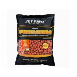 JETFISH Boilies CLASICC PREMIUM - CHILLI/ČESNEK 20mm 5kg