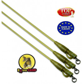 Extra Carp Safety Clips with Camo Tubing|7944