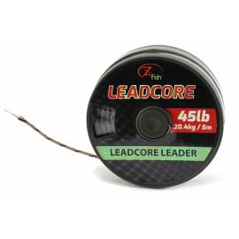 Zfish - Olověná Šňůra Leadcore Leader 45lb/5m