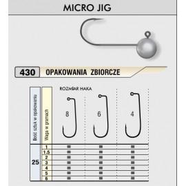 Kamatsu – Jigová hlavička MICRO 5g/vel.4