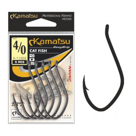 Kamatsu - Háček Cat Fish s očkem 2ks vel.10/0