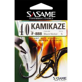 Sasame - Háček  Kamikaze s očkem vel.8/0