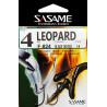 Sasame - Háček Leopard s očkem vel.6