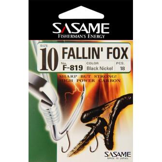 Sasame - Háček Fallin Fox s lopatkou vel.9