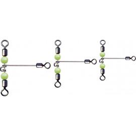Jaxon - Pevnostní Trojobratlík prodloužený s korálkem vel. XL