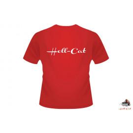 Tričko Hell-Cat Classic červené