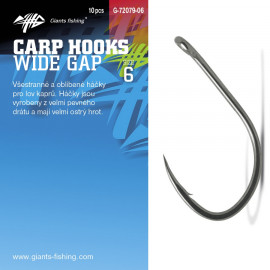 Giants fishing Háček s očkem Wide Gap 10ks|vel.2