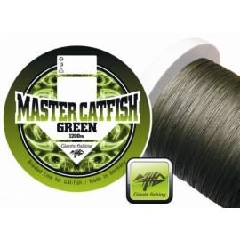 Giants fishing Splétaná šňůra Master Catfish Green 0,60mm/1200m