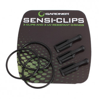 Gardner Klip na prut Sensi-Clip ( 3ks ) *NEW*