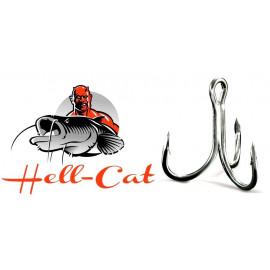 Hell-Cat Trojháček 6X-Strong vel. 1/0 - 5ks