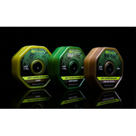 RidgeMonkey RM-TEC Soft Coated potahovaná šňůra 35lb/20m|brown