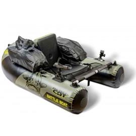 Belly boat Black Cat Battle Boat 170x113cm