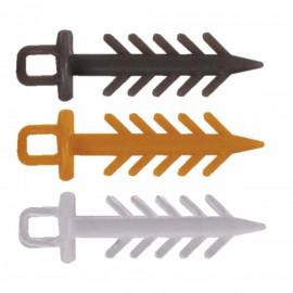 Zarážka MS Range Pin Up Barva tmavě hnědá-9930011