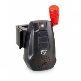 Uni Cat sada hlásičů Sensible Cat Limpid Black (lesklá verze) Sada 4ks-1564124