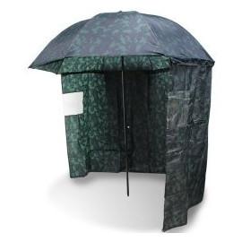 NGT - Deštník s bočnicí KAMUFLÁŽ 220cm