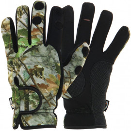 NGT - Rukavice NGT Neoprén Rukavice Camo Gloves VEL. XL