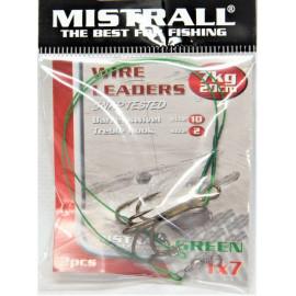 MISTRALL Green 1x7 20cm, 7kg(2ks)+trojhák