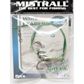 MISTRALL Green 1x7 25cm, 11kg(2ks)+trojhák