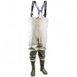Mistrall brodící kalhoty Velikost 45, khaki-šedá-MAM6470004