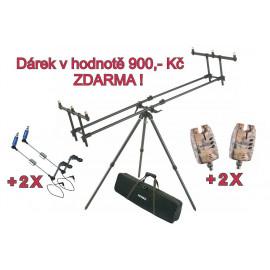 Mivardi Tripod Premium + ZDARMA 2 x Sounder Easy a 2 x SWINGARM Easy