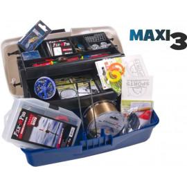 SPORTS Rybářský kufřík + MAXI výbava III