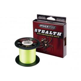 Pletenka SPIDER FLUO ŽLUTÁ - 0,12mm / 1m / 7,1kg