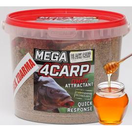 4Carp Mega Krmítková směs MED 2Kg + DIP  Zdarma