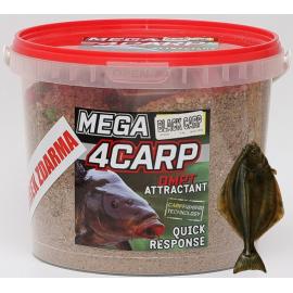 4Carp Mega Krmítková směs HALIBUT 2Kg + DIP  Zdarma