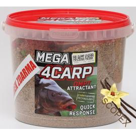 4Carp Mega Krmítková směs SCOPEX-VANILKA 2Kg + DIP  Zdarma