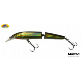 Wobler Tsunami Jointed Minnow 110mm - Black gold