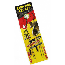 Hotové Návazce Extra Carp Carp Rig EX 666 Barbless Velikost 2