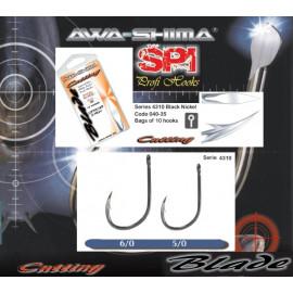 AWA-SHIMA - Háčky CUTTING BLADE 41-4310 vel. 6/0 10ks