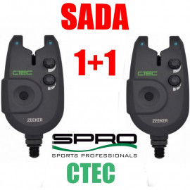 Signalizátor záběru Spro CTEC Zeeker 1+1 - AKCE
