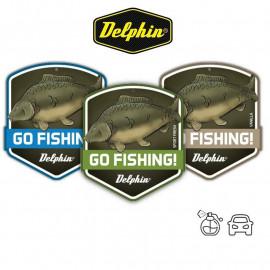 Delphin Vůně do auta GO FISHING! Carp - VANILLA
