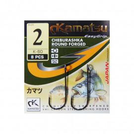 KAMATSU - Round forged Jigger vel. 6 8ks