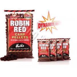 DYNAMITEBAITS pelety ROBIN RED  12mm/900g vrtané