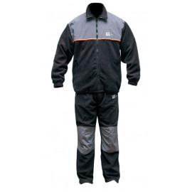Fleece komplet ICE FISH bunda + kalhoty - velikost XXL