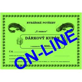 DÁRKOVÝ KUPÓN 1000 - ONLINE