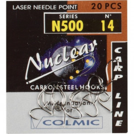 Háček COLMIC NUCLEAR N500 Vel. 10 - bal. 20ks.