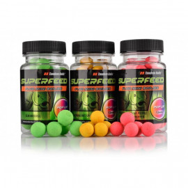 TANDEM BAITS Super Feed Fluo Mini Pop-Up 12mm/35g - INDIANA HOT SPICE