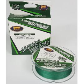 Pletenka LINEAFFE Japan Braid Moss Green 135m 0,16mm/9kg
