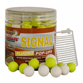 Plovoucí boilies Fluo STARBAITS Signal 80g - 14mm
