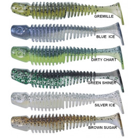 Gunki Twister Tipsy SXL Clear Water Selection - 7,6cm GREEN SHINER