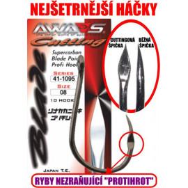 AWA-SHIMA HÁČKY CUTTING BLADE 41-1095 - vel. 1/0 - 10ks.