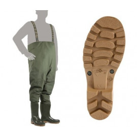 Prsačky DEMAR GRAND CHEST WADERS 3192 ZELENÁ - vel. 43