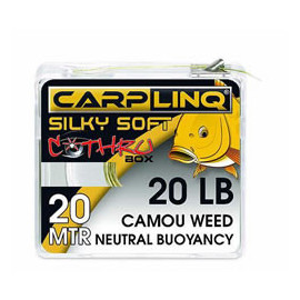 CARP LINQ Silky Soft Neutral Buoyancy 30lb/ CAMOU WEED
