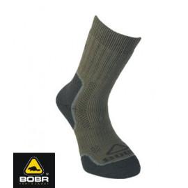 BOBR Ponožky Zátěžové KHAKI vel. 46-47