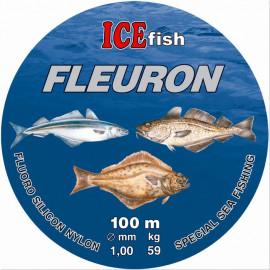 Silon ICE Fish Fleuron -  0.90mm / 100m / 47kg
