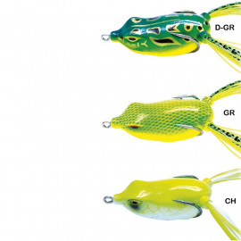 Wobler žába 5,5cm - Zelenožlutá