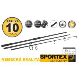 Kaprové pruty SPORTEX Competition Carp CS-4 3díl 6ks: 365cm /3,25 lbs M80